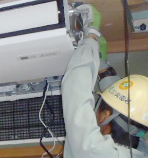 エアコン増設工事