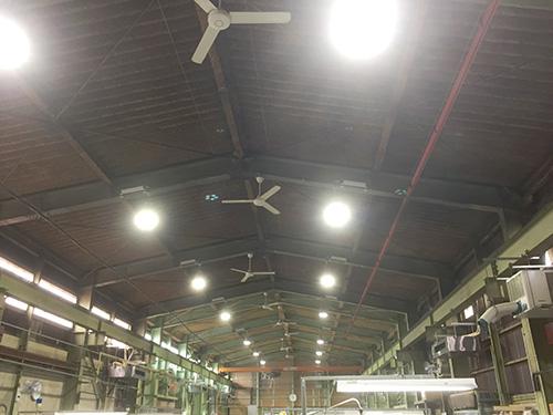 工場照明工事